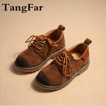 Tang Far New 2017 Spring Children Causal Shoes Boys Sneakers Kids Shoes Flat Boots Baby Toddler Shoes