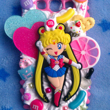 MADE TO ORDER, Custom Sailor Moon/Sailor Scout Phone Case :3