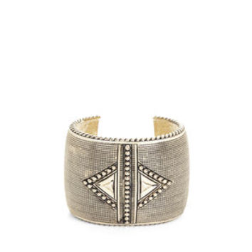 TEXTURED MEGA CUFF in Gold - BCBGeneration
