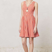 Anthropologie - Striped Day Dress