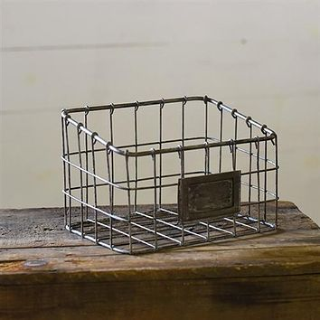 """Wire Grid Organizer with Metal Plate 8"""" x 5"""""""