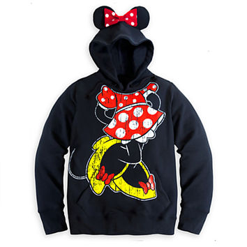 Disney Minnie Mouse Ear Hoodie for Women | Disney Store