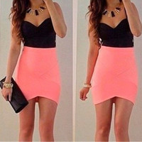 New Fashion Summer Sexy Women Mini Dress Casual Dress for Party and Date = 4661733892