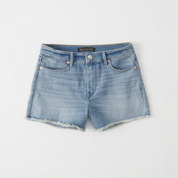 Womens High Rise Shorts | Womens Bottoms | Abercrombie.com