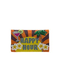 From St Xavier Happy Hour Clutch in Multi