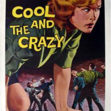 Cool And The Crazy movie poster Sign 8in x 12in