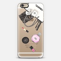 CHANEL SHOPPING (Transparent / Chance Chanel) iPhone 6s case by Ylfa Grönvold Illustrations | Casetify