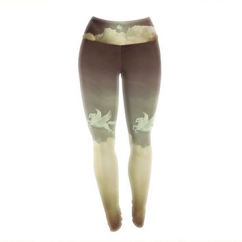 "Richard Casillas ""Pegasus"" Yoga Leggings"