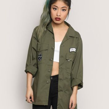 GUARDIANS OF THE EAST ARMY JACKET