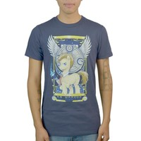 My Little Pony Dr. Hooves Dr Who Parody Men's Blue T-shirt