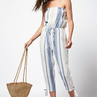 LA Hearts Strapless Jumpsuit at PacSun.com - stripe | PacSun