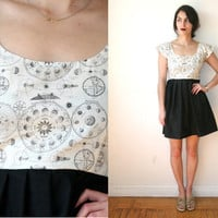 Moon Phases Constellation Zodiac Dress Sz XS S M L