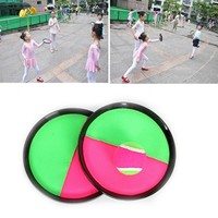 New Funny Children Family Outdoor Fun Sports Toys Throw Catch Ball Game Activity Toys Beach Garden Ball Game Sucker Disc