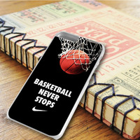 Nike Basketball Never Stop Art iPhone 6 Plus | iPhone 6S Plus Case