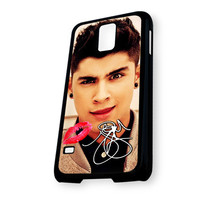 Zayn Malik One Direction Lip Kiss Signature Samsung Galaxy S5 Case