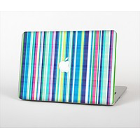 The Colorful Highlighted Vertical Stripes  Skin Set for the Apple MacBook Pro 13""