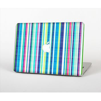 The Colorful Highlighted Vertical Stripes  Skin Set for the Apple MacBook Pro 15""