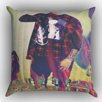 Justin Bieber Journals X0050 Zippered Pillows  Covers 16x16, 18x18, 20x20 Inches
