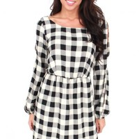 Check On It Plaid Dress | Monday Dress Boutique