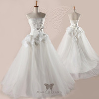 Art no BG1078 Luxury Ball Gown Duchess ALine  Bridal by MDNY