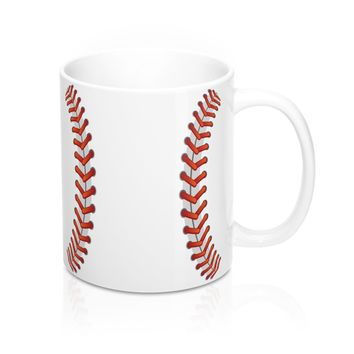 Baseball Stitches - Baseball Themed Mug