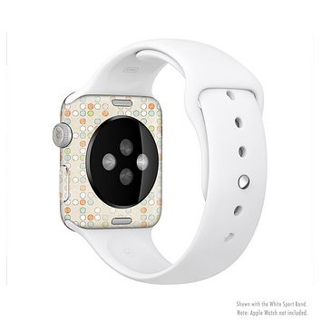 The Vintage Tiny Polka Dot Pattern Full-Body Skin Set for the Apple Watch