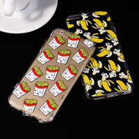 Cute Popcorn Phone Case For iphone 6 6s Plus Cover Back