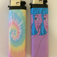 Soft Grunge Lighter Set