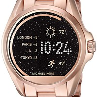 Access Touch Screen Rose Gold Bradshaw Smartwatch MKT5004