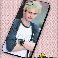 """Michael Clifford 5 Seconds Of Summer  for iPhone 4/4s, iPhone 5/5S/5C/6/6+, Samsung S3/S4/S5 Case """"005"""""""