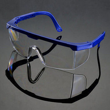Vented Safety Goggles Glasses Eye Protection Protective Lab Anti Fog Clear ls