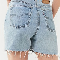 Urban Renewal Remade Longline Cutoff Denim Levi's Short | Urban Outfitters