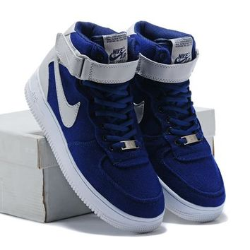 NIKE Woman Men Fashion High-Top Sneakers Sport Shoes