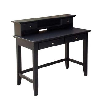 Home Styles Furniture 5531-162 The Bedford Student Desk/Hutch Combo