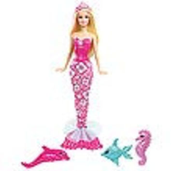 Barbie Mermaid and Pets Doll Case