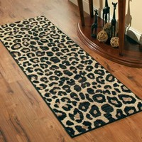 Better Homes and Gardens Cheetah Print Runner Rug - Walmart.com