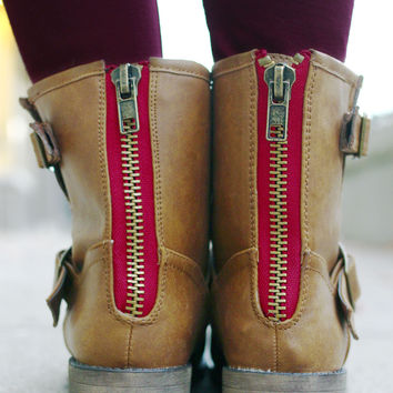 Step By Step Boot - Tan
