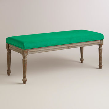 Emerald Paige Dining Bench - World Market