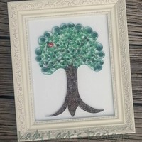 Quilled Tree from Lady Lack's Designs