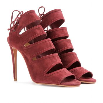 mytheresa.com -  Sloane suede sandals  - Luxury Fashion for Women / Designer clothing, shoes, bags