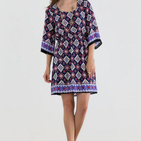 WESTCHESTER PRINTED DRESS