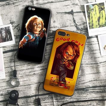 Chucky Child's Play Film soft silicone TPU Phone Case cover Shell For Apple iPhone 5 5S SE 6 6S 6Plus 6sPlus 7 7Plus 8 8Plus X