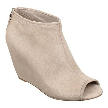 Nine West: BLAZE PEEP-TOE BOOTIES