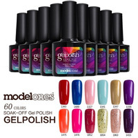 Modelones 10ml Gelpolish Soak Off LED UV Nail Gel Polish Color Lacquer Nail Art 60 Colors [8833967308]