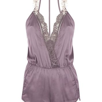 Lace And Satin Pyjama Teddy