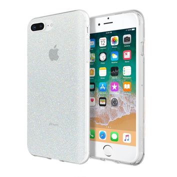 INCIPIO IRIDESCENT WHITE GLITTER DESIGN SERIES CASE FOR APPLE IPHONE 6/7/8 PLUS