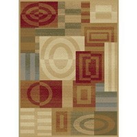 Tayse Rugs Geometric 8862 Multi | CONTEMPORARY, Rugsville.com