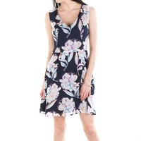 French Connection Women's Contemporary Shadow Bloom Flared Dress at Von Maur