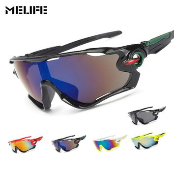MELIFE Windproof Sport Eyewear Cycling Glasses Outdoor motocross Sunglasses snowboard Goggles Gifts ski googles double lens
