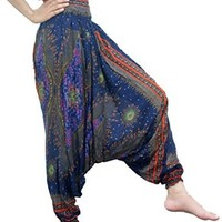 Thai Pants Women Harem Pants Jumpsuit Hippie Pants Hippie Clothes Elephant Pants